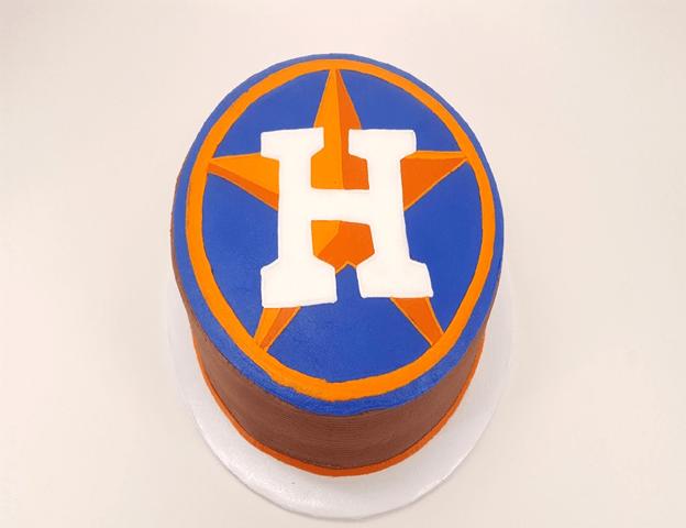 Astros Symbol >> Houston Astros Cake Moeller S Bakery